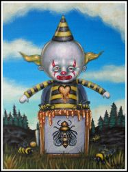 Bumble Bee Jack in the Box by Pascalism