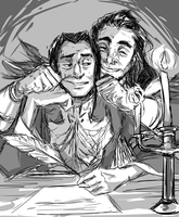 Medivh and moroes by Dr-Parasite