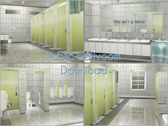 Obscure - Public Bathroom .: Download :. by kaahgome