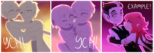 [CLOSED] V-day couples! by Pyro-Zombie