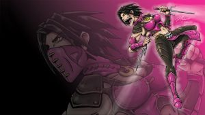 MORTAL KOMBAT X MILEENA WALLPAPER v2 by Matucha