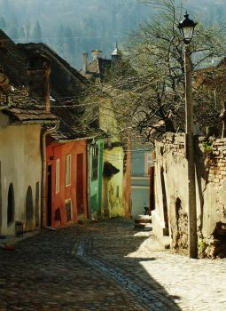 sighisoara by she-is-weird