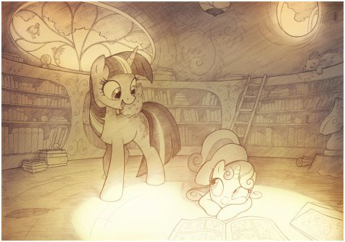 Sunday Reading by sherwoodwhisper