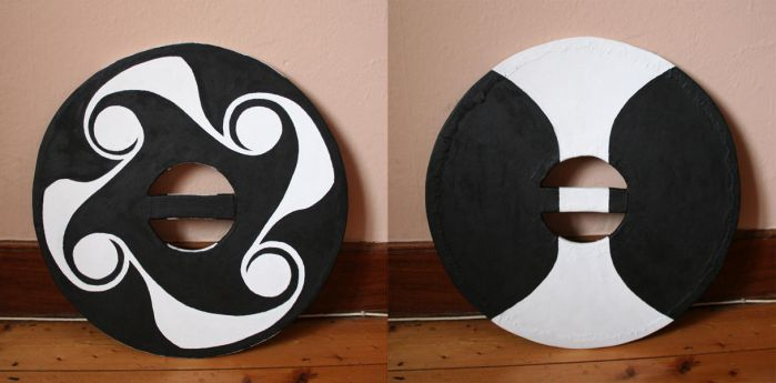 Shield Painting Finished by subedei