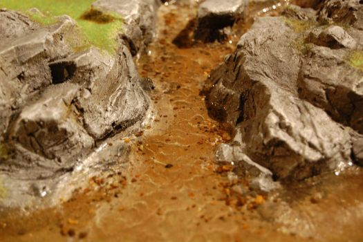 Grass river close up by Battleboards