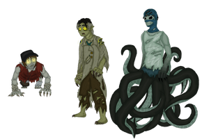 TF2 - Still Here Monsters by Falljoydelux
