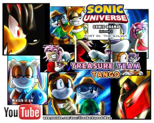 SONIC UNIVERSE #21 Comic Drama - Episode 3, Part 1 by ElsonWong