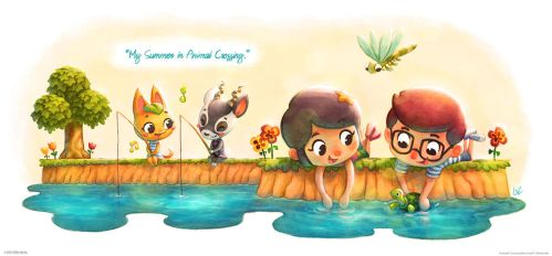 My Summer in Animal Crossing by lilibz