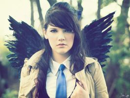 Fem Castiel from Supernatural Cosplay 3 by SNTP