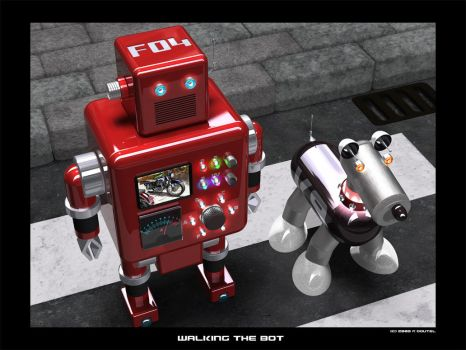 Walking The Bot by caos