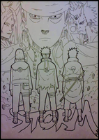 Team 7! - (Can anyone coloring that?) by Animeboy274s