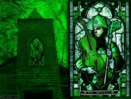 Stained-Glass Peter Steele by VoodooHammer