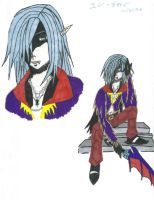 Riku. The Vampire by animegirlp