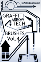 Graffiti Tech Arrows Pack4 by SikWidInk