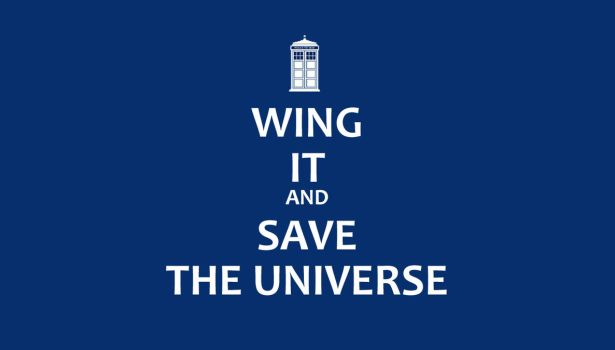 Wing It and Save the Universe by Ashique47