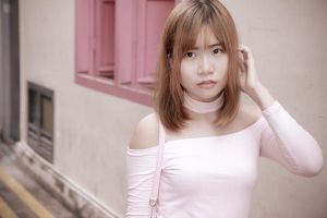 Casual - Pretty in Pink by Xeno-Photography