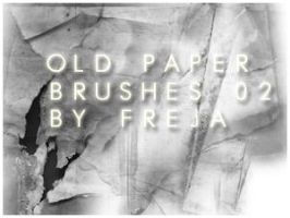 Old paper brushes 02 by Ajandra
