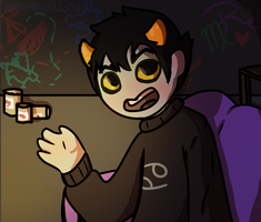 Karkat Raving about Movies by MEWMEWLily123