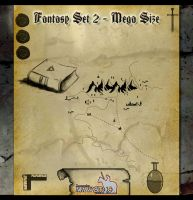 Fantasy Set 2 Mega Pack by mawstock