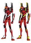 eva 02 new armor colors by Ronniesolano