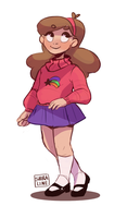 Mabel Pines by shiraline