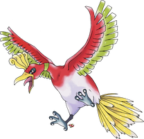 Ho-Oh Normal Version by Xous54