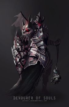 Devourer of Souls Character Concept by jeffchendesigns