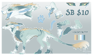 Male feral Vernid Adoptable CLOSED by Negatable