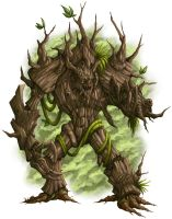 DS: Monsters - Treant by willowWISP
