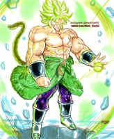 New Broly by Mark-Clark-II