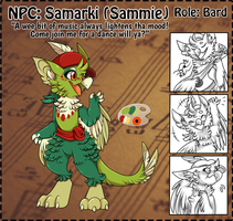NPC: Sammie by Wyngrew