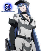 Esdeath - Render by XElectromanX10