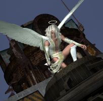 Angel in the City 2 by DiannaSilver