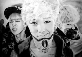 ZELO Drawing by diamondnura