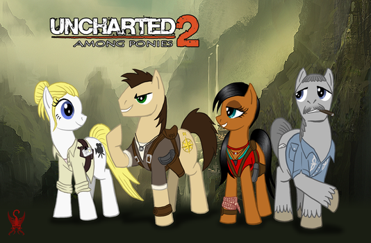 MLP Uncharted 2: Among Ponies by Saber-Scorpion