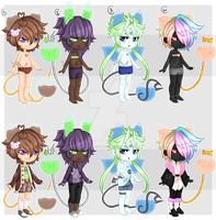 [CLOSED] Driftling Collab with Whitewolf155 by x-Cute-Kitty-x