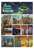 Green Lantern - Wed. Comics p4 by quin-ones