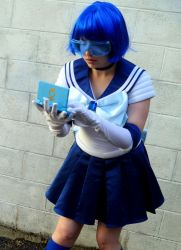 Sailor Mercury - Computer by moonlight-fright
