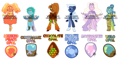 [A] Collab Opals (CLOSED) by watergems