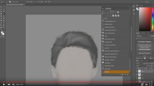 Painting hair with Photoshop tutorial by jayanam