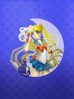 Sailor Moon by oneKATIE