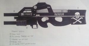 P90 'Reaper' Concept by Panzer-13