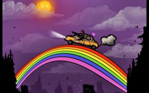RIDE THE RAINBOW by alexiuss