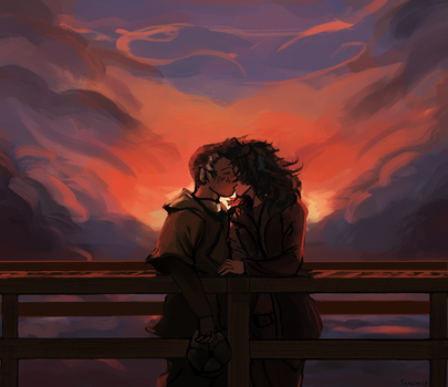 I wanna stay with you for a long time by Teavian