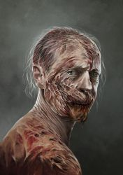 Zombie Guy by Hellkrusher