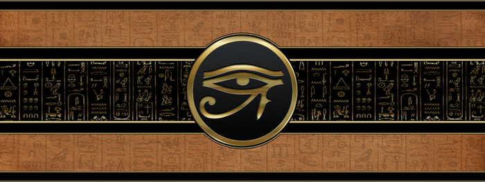 Eye of Ra 3200x1200 by KenSaunders