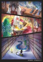Waterway Afterglow pg. 5. by TiamatART