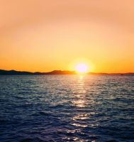 Sunset in Dalmatia by allison731