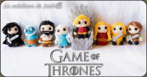 Game Of Thrones Amigurumi by cristell15