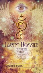 Lucent Dossier New Member Card by Soul7